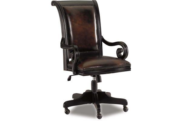 Large image of Hooker Furniture Home Office Telluride Tilt Swivel Chair - 370-30-220
