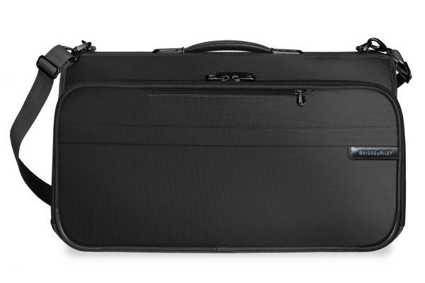 Large image of Briggs & Riley Black Compact Garment Bag  - 375-4