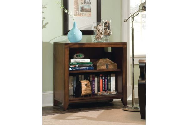 Large image of Hooker Furniture Home Office Danforth Low Bookcase - 388-10-420