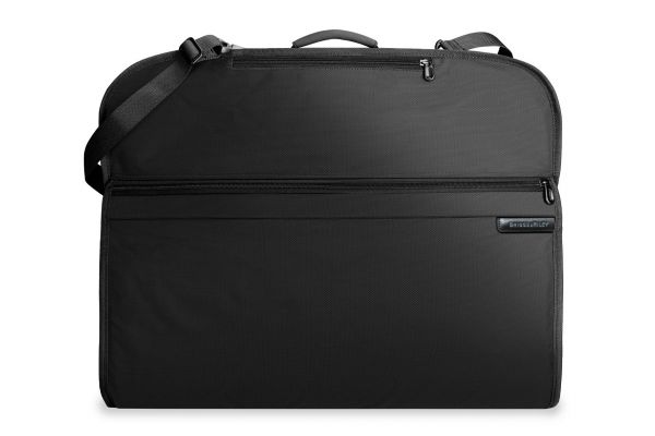 Large image of Briggs & Riley Black Classic Garment Bag  - 389-4