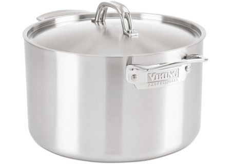Viking 8-Quart Stainless Steel Stock Pot With Lid - 4015-1008S