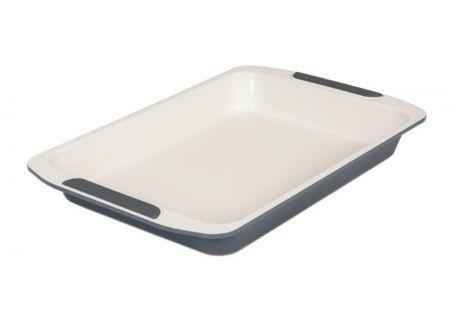 """Viking Bakeware Ceramic 14"""" Non-Stick Roast Pan - 40403314CGY"""