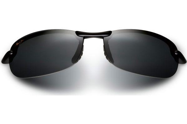 Maui Jim Makaha Semi-Rimless Neutral Grey Mens Sunglasses - 405-02