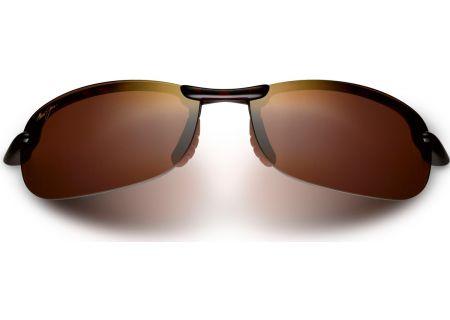 Maui Jim Makaha Semi-Rimless HCL Bronze Mens Sunglasses - H405-10