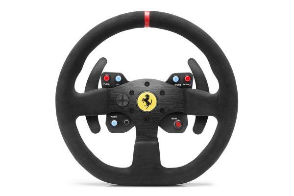 Large image of Thrustmaster Alcantara Edition Ferrari 599XX EVO 30 Wheel Add-On - 4060071