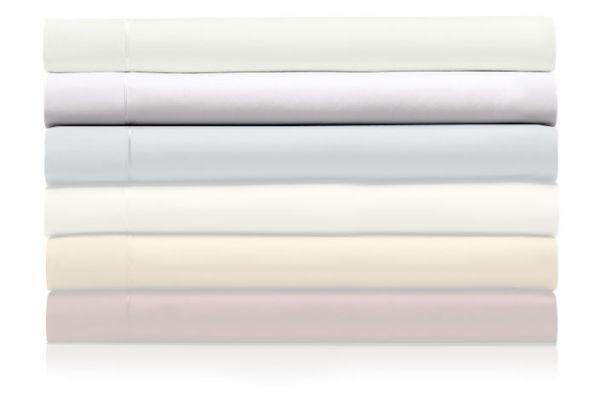 Large image of Tempur-Pedic Pima Cotton 310 Count White Twin XL Sheet Set - 40606420