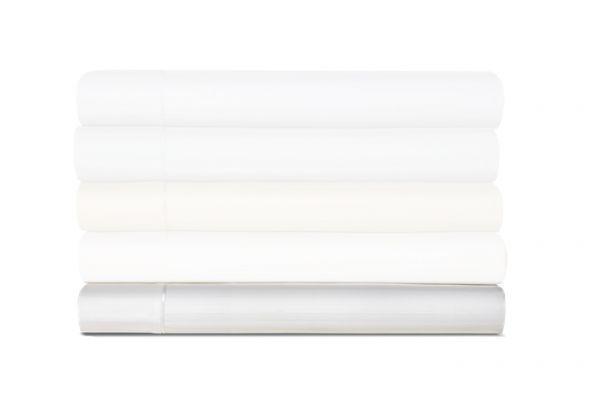 Large image of Tempur-Pedic Egyptian Cotton 420 Count White King Sheet Set - 40607170