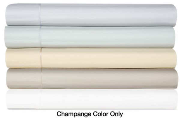 Large image of Tempur-Pedic Egyptian Cotton 420 Count Champagne Full Sheet Set - 40607230