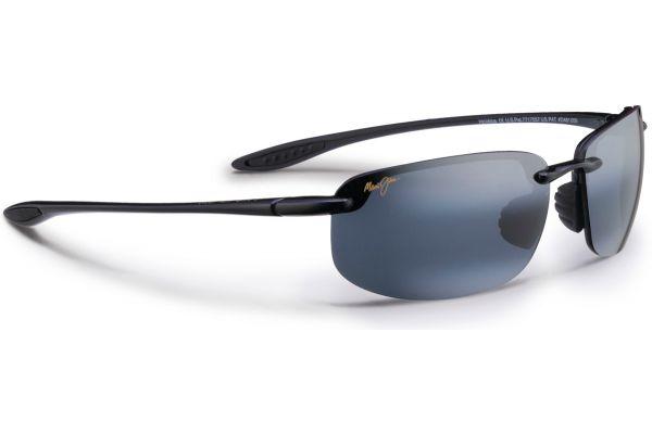Large image of Maui Jim Semi-Rimless Hookipa Neutral Grey Unisex Sunglasses - 407-02