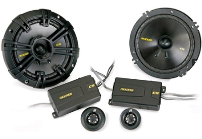 Kicker - 40CSS654 - 6 1/2 Inch Car Speakers