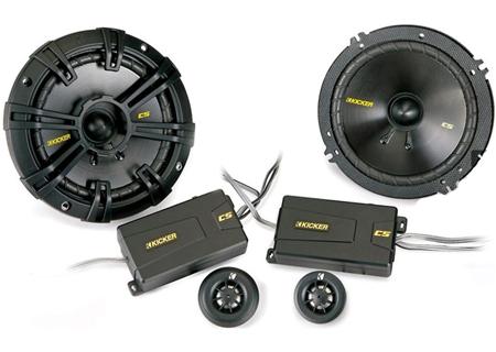 Kicker - 40CSS654 - 6 1/2 Inch Car Speakers