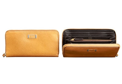 Tumi - 41603 HONEY PATENT - Womens Wallets