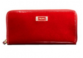 Tumi - 41603PYP POPPY PATENT - Women's Wallets