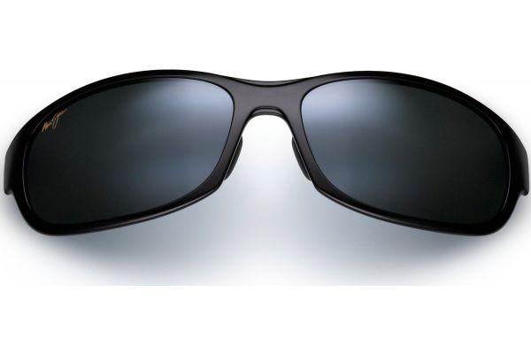 Large image of Maui Jim Twin Falls Neutral Mens Rectangle Grey Sunglasses - 41702J