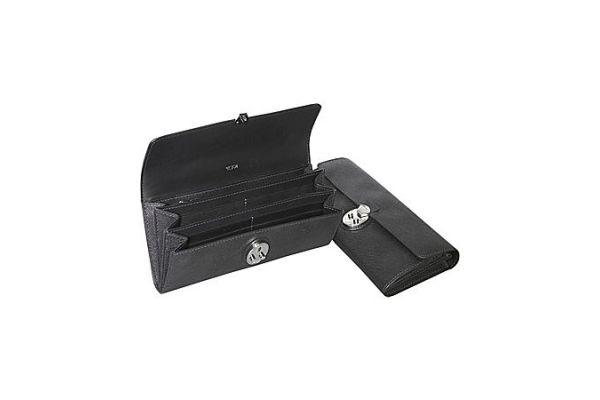 Tumi Villa Collection Black Continental Wallet - 41801