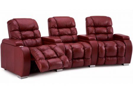 Palliser Linus Series Red Home Theater Recliner - 41921LINUS
