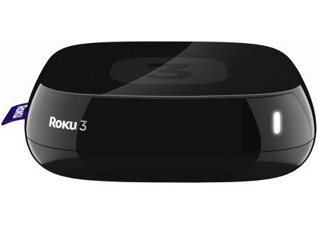 Roku 3 Black Streaming Media Player - 4200R