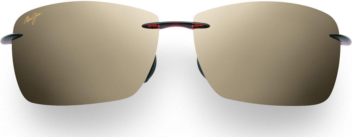 e48ca667546f9 Maui Jim Lighthouse Oval Brown Mens Sunglasses - H423-26