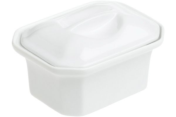 Large image of Pillivuyt Classics Faceted Terrine With Lid - 430514