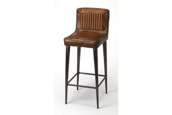 Butler Specialty Company Maxwell Leather Bar Stool - 4347344