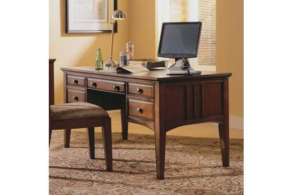 "Large image of Hooker Furniture Home Office 60"" Writing Desk - 436-10-158"