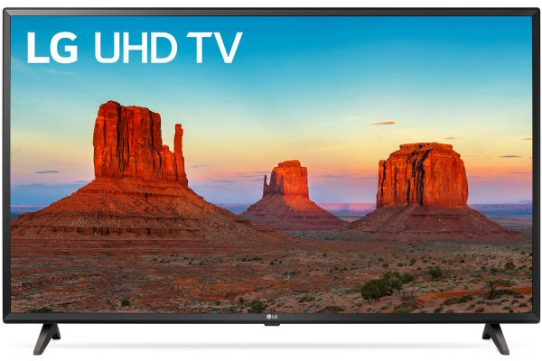 "LG 43"" Black UHD 4K HDR Smart LED HDTV With WebOS - 43UK6090PUA"