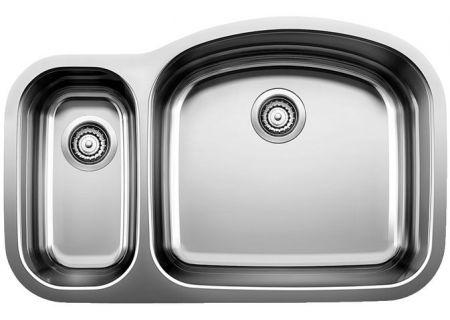 Blanco BLANCOWAVE Stainless Steel 1-1/2 Reverse Bowl Kitchen Sink  - 440245