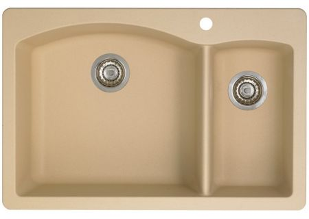 Blanco Diamond 1 1/2 Bowl Silgranit Biscotti Kitchen Sink - 441221