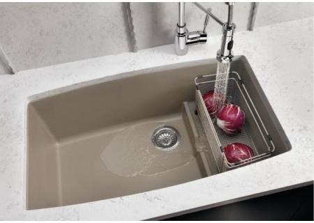 Blanco Performa Cascade Truffle Super Single Bowl Kitchen Sink  - 441291