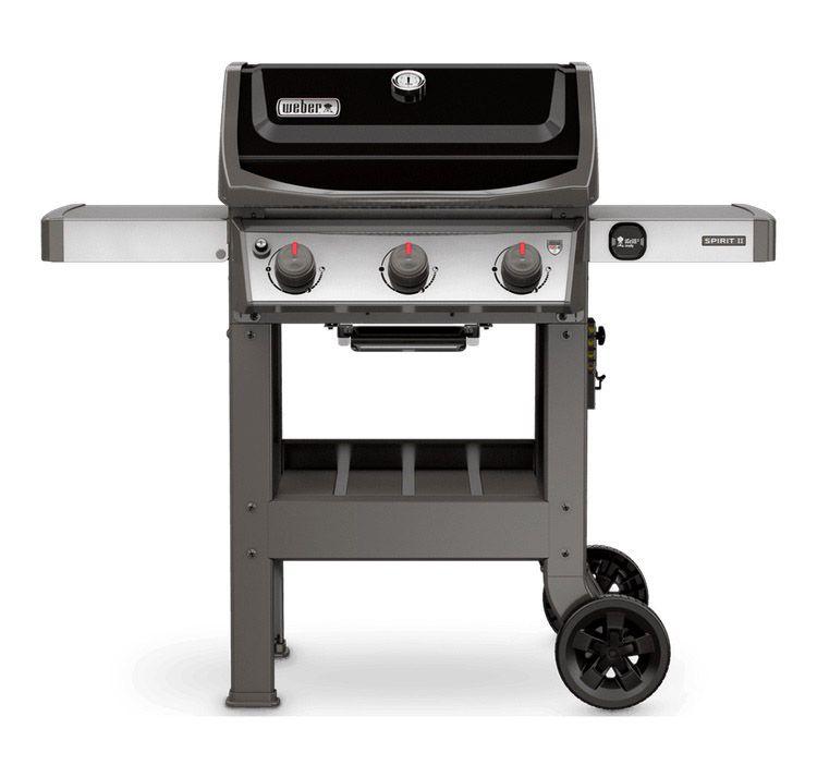 Weber Grill Side Table.Weber Spirit Ii E 310 Black Liquid Propane Outdoor Gas Grill