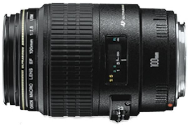 Large image of Canon EF 100mm f/2.8 Macro USM Lens - 4657A006