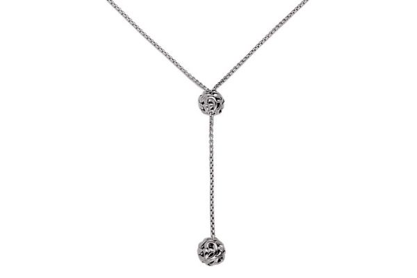 Charles Krypell Ivy Sterling Silver Necklace  - 4-6870-S