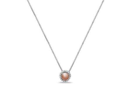 Charles Krypell Firefly Two-Tone Sterling Silver And  Rose Gold Necklace  - 4-6970-FFSP