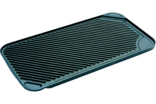 """Large image of Scanpan Black 17"""" x 9.5"""" Classic Stove Top Grill  - 47231200"""