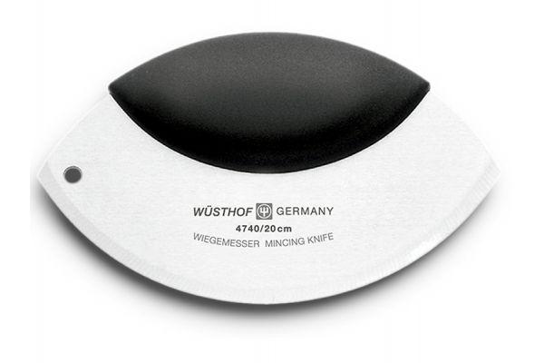 """Large image of Wusthof 8"""" Mezzaluna Mincing Knife - 4740"""