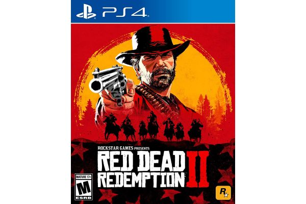 Sony PlayStation 4 Red Dead Redemption 2 Video Game - 47890