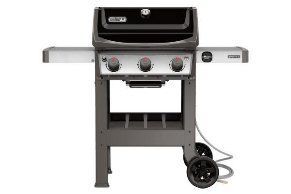 Weber Spirit II E-310 Black Natural Gas Grill - 49010001