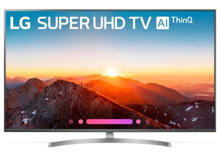 "LG 49"" Silver Super UHD 4K HDR Smart LED AI With ThinQ - 49SK8000PUA"