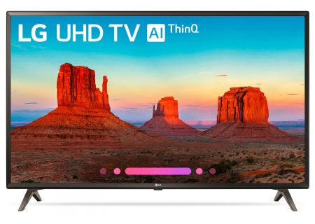 "LG 49"" Black UHD 4K HDR Smart LED AI With ThinQ - 49UK6300PUE"