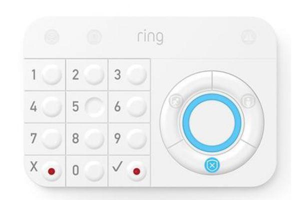 Large image of Ring White Alarm Keypad - 4AK1S7-0EN0