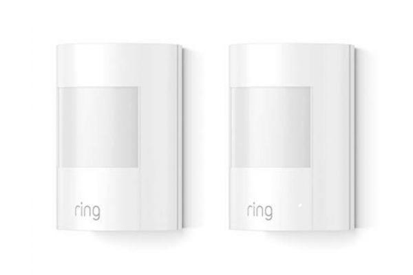 Large image of Ring White 2-Pack Alarm Motion Detector - 4XP1S7-0EN0