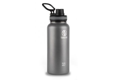 Takeya 32 Oz Graphite Thermoflask Stainless Steel Bottle - 50016
