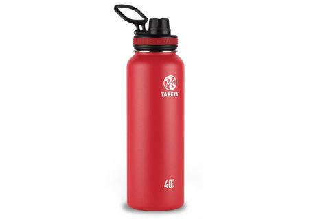 Takeya 40 Oz Red Thermoflask Stainless Steel Bottle - 50026
