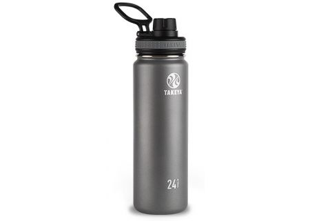 Takeya 24 Oz Graphite Thermoflask Stainless Steel Bottle - 50045