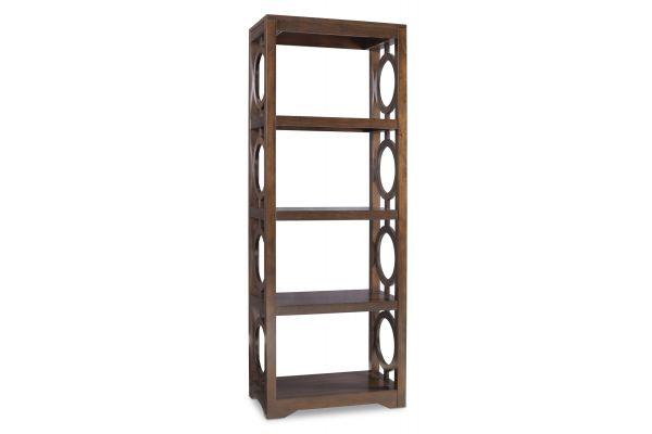 Large image of Hooker Furniture Kinsey Etagere Bookcase - 5066-10443