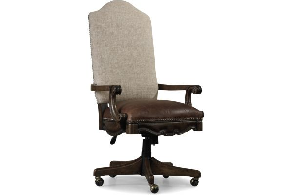 Large image of Hooker Furniture Rhapsody Tilt Swivel Chair - 5070-30220