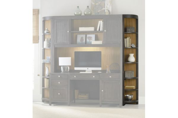 Large image of Hooker Furniture South Park Corner Unit Bookcase - 5078-10450