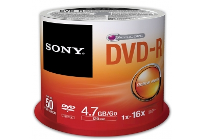 Sony - 50DMR47SP - Recordable DVD Discs