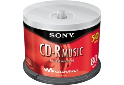 Sony - 50CRM80RS - CD-R & CD-R-W