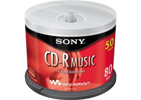 Sony - 50CRM80RS - CD-R & CD-R-W